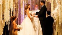 Un véritable mariage de princesse pour la star de