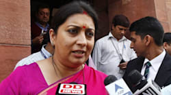 Smriti Irani Engages In War Of Words On Twitter With