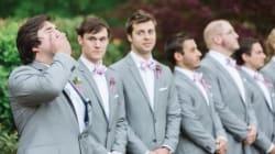 23 novios que no pudieron contener la emoción en el día de su boda