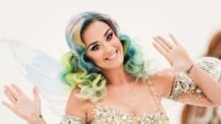 Katy Perry est métamorphosée pour cette campagne de Noël