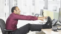 3 Office Workouts That Won't Make You Look
