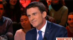 Manuel Valls ne s'est pas