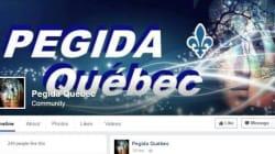 Pégida Québec est de retour sur