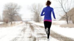 Continuer à courir même quand il fait très froid, c'est