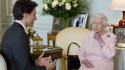 Trudeau rencontre la reine à
