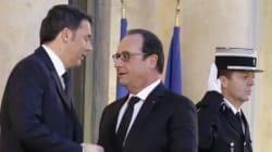 Renzi incontra Hollande