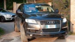 Galan sorpreso con l'Audi senza assicurazione: macchina