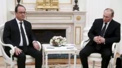 Accord a minima entre Hollande et Poutine pour combattre