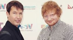 Ed Sheeran et James Blunt