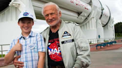 Alberta Boy Over The Moon After Meeting Buzz