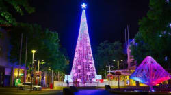 Canberra Smashes World Record For Most Lights On A Christmas