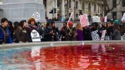 「DVシェルター閉鎖は性差別」ロンドンで女性たちが抗議の声をあげた