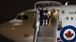 Trudeau arrive à Paris et se dit «très optimiste» sur la conclusion d'un