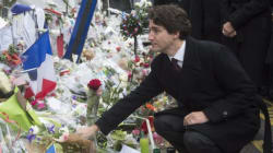 Trudeau Pays Tribute To Paris Attack Victims At The