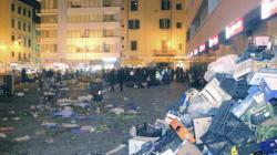 Emergenza monnezza a Livorno, il sindaco 5 Stelle Nogarin nella
