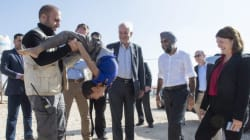 Canadian Ministers Visit Refugee Camp In