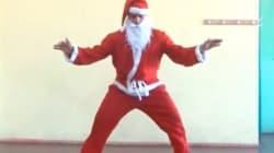 Des Pères Noël qui savent bouger