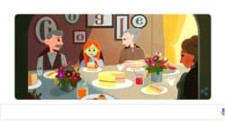 Google aux couleurs d'«Anne, la maison aux pignons