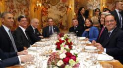 Pour le dîner, Obama et Hollande se retrouvent dans un grand restaurant