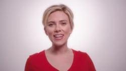 Scarlett Johansson chante contre le