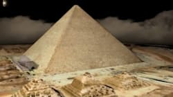 Análises térmicas da Grande Pirâmide do Egito revelam anomalia