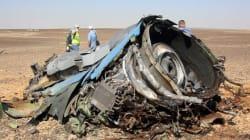 Écrasement dans le Sinaï: c'était un attentat, admet le