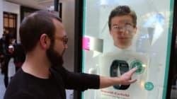 Nouvelles Vitrines interactives au Centre Eaton de Montréal