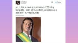 Se a Dilma cair, quem assume é... Estes tweets provam que a internet já