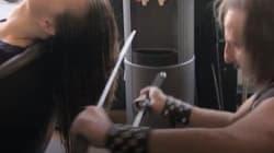Ce coiffeur fait compétition à Edward aux mains d'argent