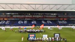 Le public de l'Olympique lyonnais fait ses adieux à son