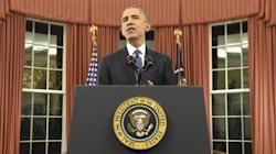 Obama Reaffirms Terror Policy In Rare Oval Office