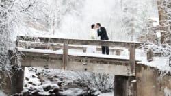Se marier en hiver? Ces photos sublimes vous convaincront!