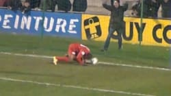 Soccer Player Scores World's Cheekiest Goal, Of Which We