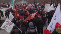 Secteur public: quelques syndicats n'ont pas encore réglé, dont la