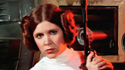 Carrie Fisher's Daughter Is Following In Mom's Star Wars'