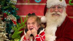 32 photos avec le père Noël qui ne se sont pas passées comme sur des