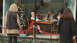This Window Display Reveals A Darker Side Of The