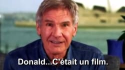 Harrison Ford clashe Donald