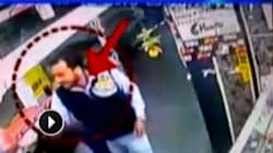 Shocking CCTV Footage Show Man Beating Elderly Couple Up In