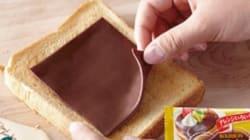 Mieux que le fromage à burger, le chocolat en fines