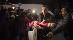 Refugee Family On First Flight Calls Canada