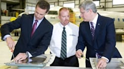 Harper And McGuinty Join Forces At Ontario