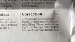 Globe Owns Up To Botched Quote In Funny Trump-Related