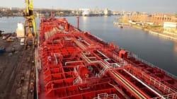 Le pétrole d'Enbridge sur le fleuve ce