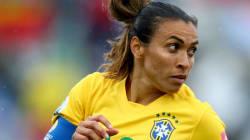 Fantástica! Após ultrapassar Pelé, Marta chega a 100 gols pela