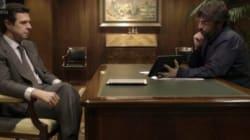 Jordi Évole hace tragar saliva al ministro Soria poniéndole este