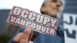 Occupy Protesters Greet Harper In