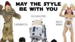 Les stars de la mode transformées en personnages de Star Wars
