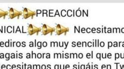 El 'pásalo' por whatsapp del PP contra Pedro