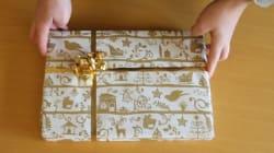 Une vidéo pour emballer vos cadeaux comme un
